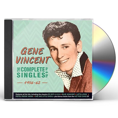 Gene Vincent COMPLETE SINGLES AS & BS 1956-62 CD
