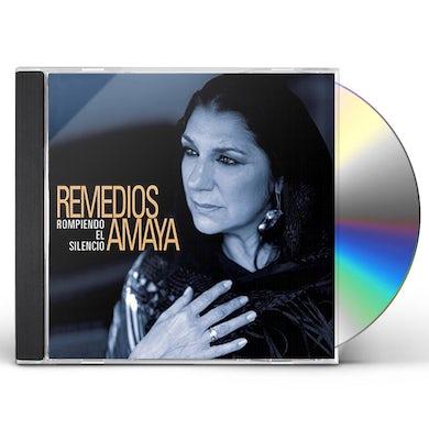 Remedios Amaya ROMPIENDO EL SILENCIO CD