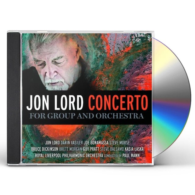 Jon Lord CONCERTO FOR GROUP & ORCHESTRA CD