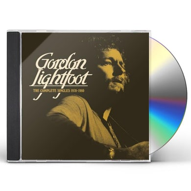 Gordon Lightfoot COMPLETE SINGLES 1970-1980 CD