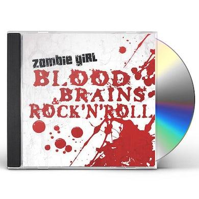 Zombie Girl BLOOD BRAINS & ROCK N ROLL CD