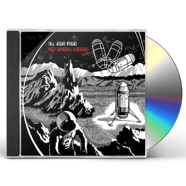 All India Radio RED SHADOW LANDING CD