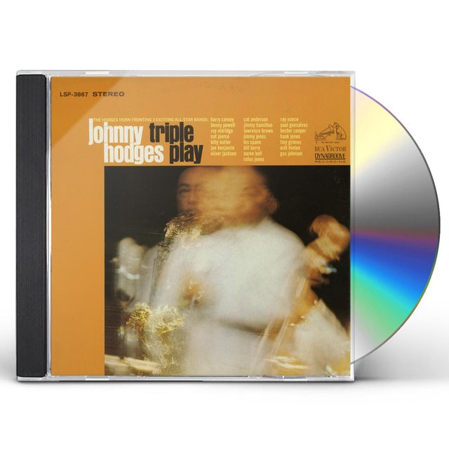 Johnny Hodges TRIPLE PLAY CD