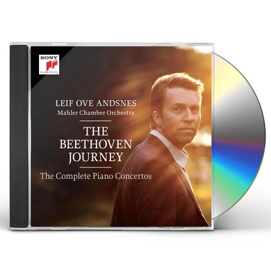 Leif Ove Andsnes BEETHOVEN JOURNEY - PIANO CONCERTOS NOS 1-5 CD