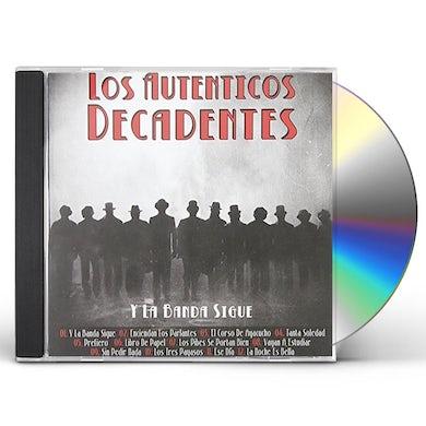 Los Autenticos Decadentes Y LA BANDA SIGUE CD