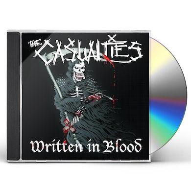The Casualties WRITTEN IN BLOOD CD