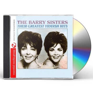 Barry Sisters THEIR GREATEST YIDDISH HITS CD