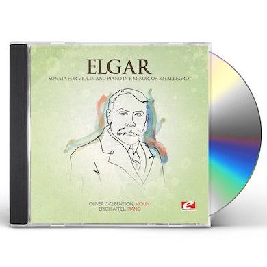 Elgar SONATA VIOL & PIANO E MIN 82 (ALLEGRO) CD
