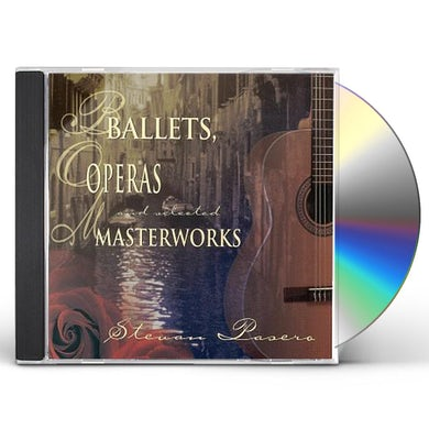 Stevan Pasero BALLETS OPERAS & MASTERWORKS CD