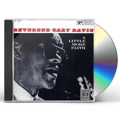 Rev Gary Davis LITTLE MORE FAITH CD