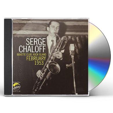 Serge Chaloff UVETTE CLUB ROCK ISLAND CD