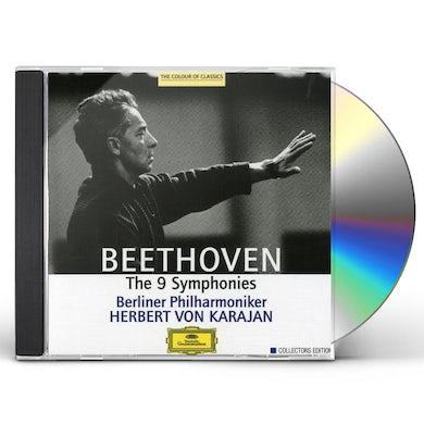 KARAJAN / BERLINER PHILHARMONIKER COLL ED: BEETHOVEN - THE 9 SYMPHONIES CD