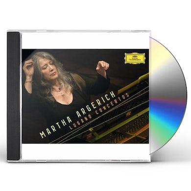 Martha Argerich LUGANO CONCERTOS CD