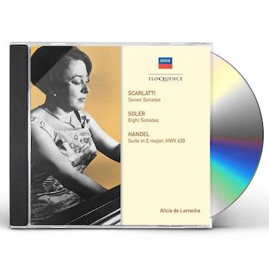 Alicia de Larrocha SCARLATTI & SOLER: SONATAS CD