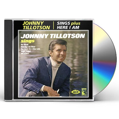 Johnny Tillotson SINGS / HERE I AM CD