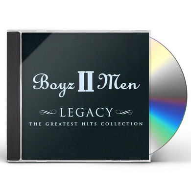 Boyz II Men LEGACY-THE GREATEST HITS COLLECTION CD