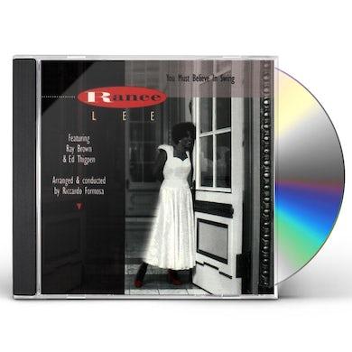 Ranee Lee YOU MUST BELIEVE IN SWING CD