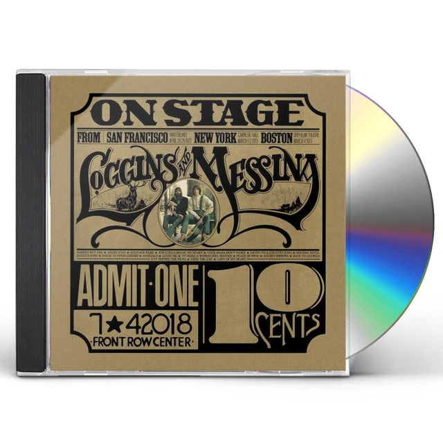 Loggins & Messina ON STAGE CD