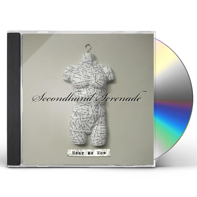 Secondhand Serenade HEAR ME NOW CD
