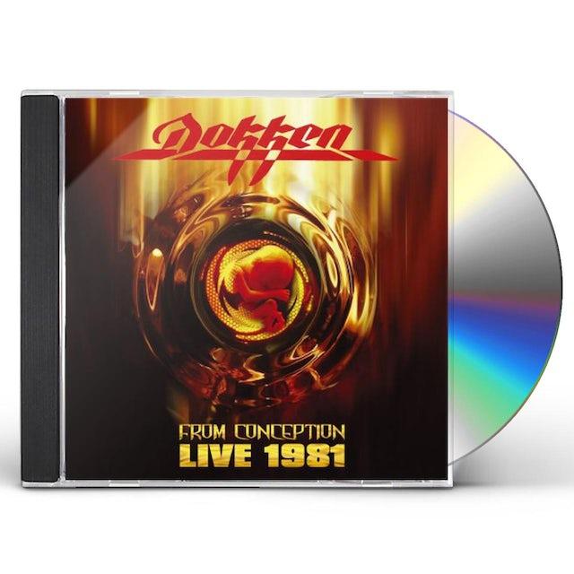 Dokken FROM CONCEPTION: LIVE 1981 CD