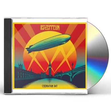 Led Zeppelin CELEBRATION DAY: DELUXE BLU-RAY/CD/DVD EDITION CD