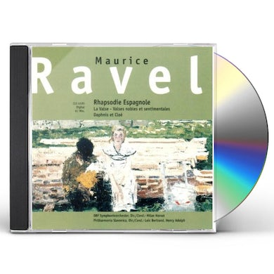 Ravel RHAPSODIE ESPAGNOLE CD