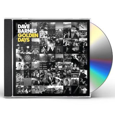 David Barnes GOLDEN DAYS CD
