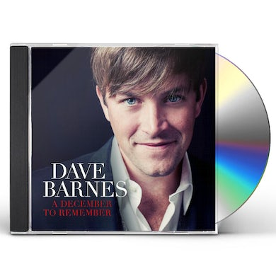 Dave Barnes A DECEMBER TO REMEMBER CD