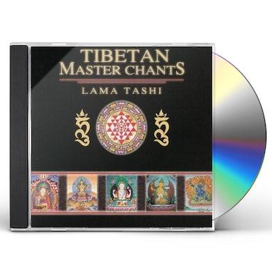 Lama Tashi TIBETAN MASTER CHANTS CD