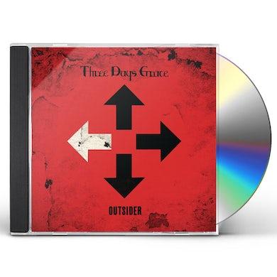 Three Days Grace OUTSIDER CD