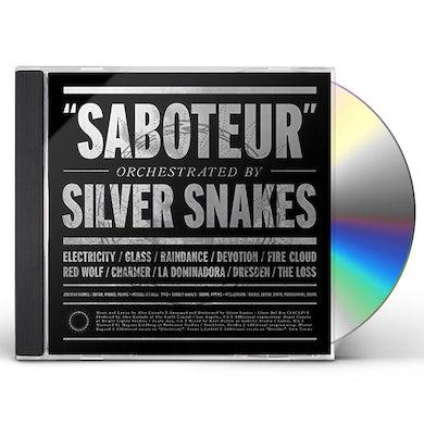 Silver Snakes SABOTEUR CD