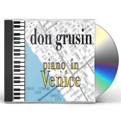 Don Grusin PIANO IN VENICE CD
