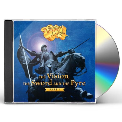 Eloy THE VISION THE SWORD & THE PYRE (PART 1) CD