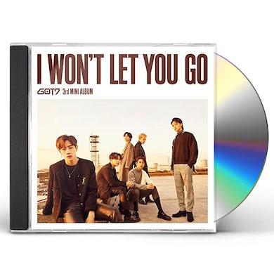 GOT7 I WON'T LET YOU GO CD