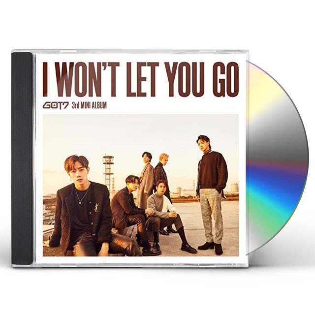 GOT7 I WON'T LET YOU GO CD