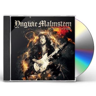 Yngwie Malmsteen WORLD ON FIRE CD
