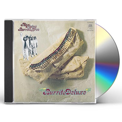 The Flying Burrito Brothers BURRITO DELUXE CD