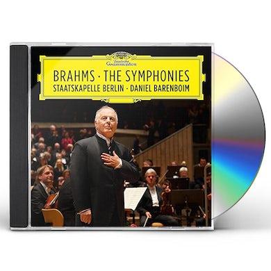 Daniel Barenboim BRAHMS SYMPHONIES CD