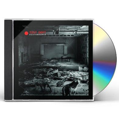 Test Dept DISTURBANCE CD