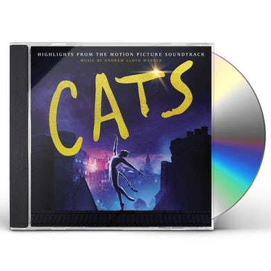 Andrew Lloyd Webber CATS: HIGHLIGHTS FROM MOTION PICTURE SOUNDTRACK CD