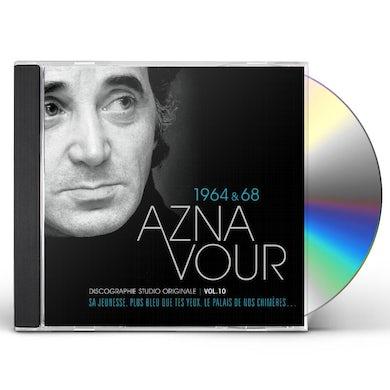 Charles Aznavour DISCOGRAPHIE STUDIO ORIGINALE VOL 10 CD