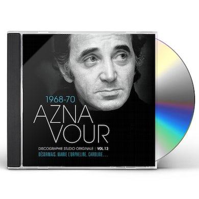 Charles Aznavour DISCOGRAPHIE STUDIO ORIGINALE VOL 13 CD