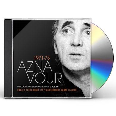 Charles Aznavour DISCOGRAPHIE STUDIO ORIGINALE VOL 14 CD