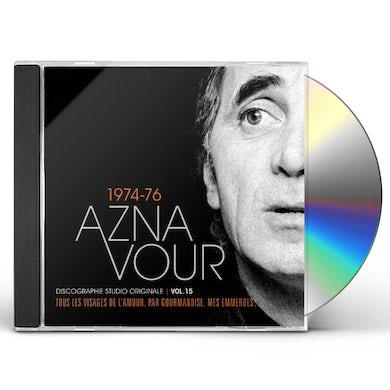 Charles Aznavour DISCOGRAPHIE STUDIO ORIGINALE VOL 15 CD