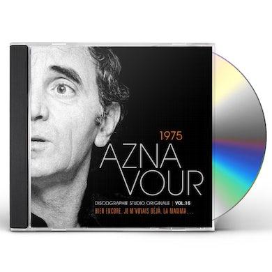Charles Aznavour DISCOGRAPHIE STUDIO ORIGINALE VOL 16 CD
