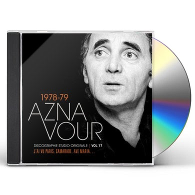 Charles Aznavour DISCOGRAPHIE STUDIO ORIGINALE VOL 17 CD