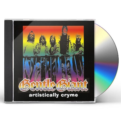 Gentle Giant ARTISTICALLY CRYME CD