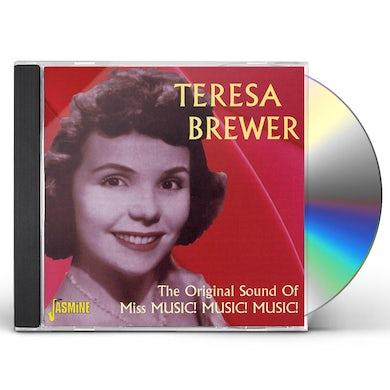 Teresa Brewer ORIGINAL SOUND OF MISS MUSIC MUSIC MUSIC CD
