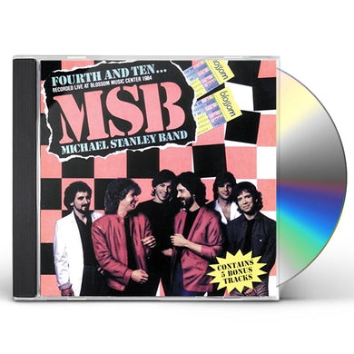 Michael Stanley FOURTH & TEN CD