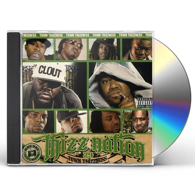 Mac Dre THIZZ NATION 29: TOWN THIZZNESS CD